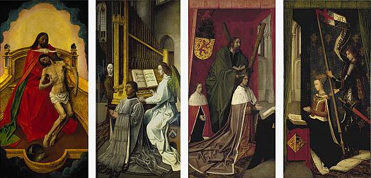 Altarpiece from the Church of the Holy Trinity in Edinburgh, Scotland