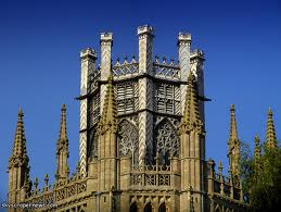 Exterior view of the lantern of Ely Cathedral