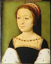 King James' first wife, Madeleine of Valois