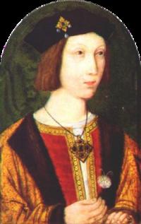 Young Arthur Tudor