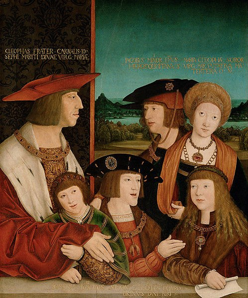 Mary of Burgundy and her family