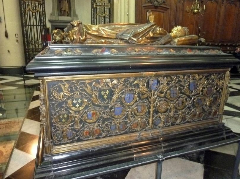 Tomb of Mary of Burgundy, Church of Our Lady, Bruges, Photo courtesy of Tina Dallas