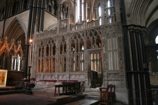 Prince Arthur's Chantry in Worcester Cathedral