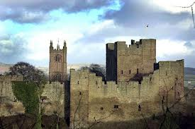 Remains of Ludlow Castle