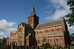 St. Magnus Cathedral, Kirkwall, Orkney, Scotland