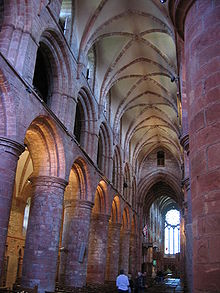 Interior of St. Magnus Cathedral