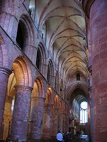 Interior of St. Magnus Cathedral
