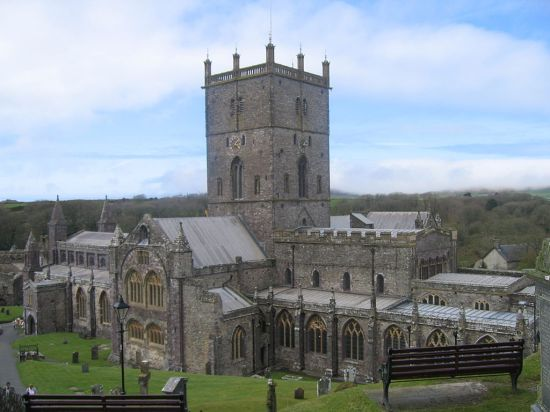 St. David's Cathedral, Pembrokeshire, Wales