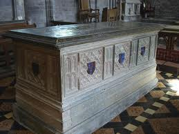 Tomb of Edmund Tudor, father of King Henry VII of England