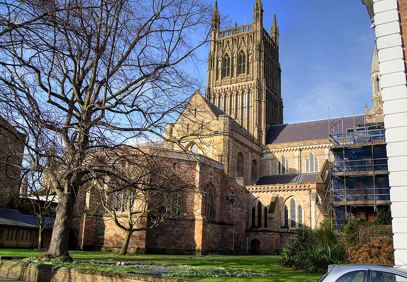 Worcester Cathedral from the College Green