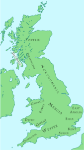 British Kingdoms, c. 800