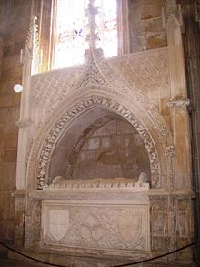 Prince Ferdinand's tomb at the monastery of Batalha