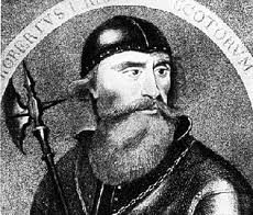 Depiction of Robert the Bruce