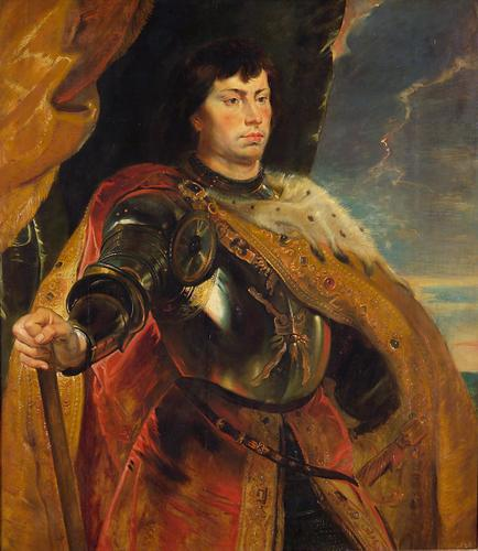 Portrait of Charles the Bold, Duke of Burgundy by Peter Paul Rubens