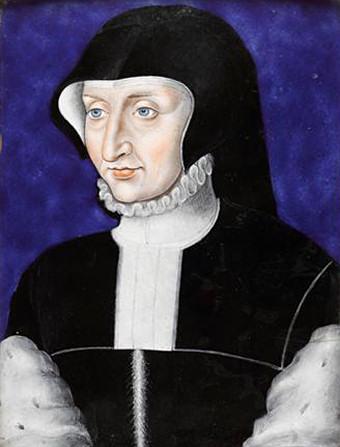 Antoinette de Bourbon, Duchess of Guise by Leonard Limousin