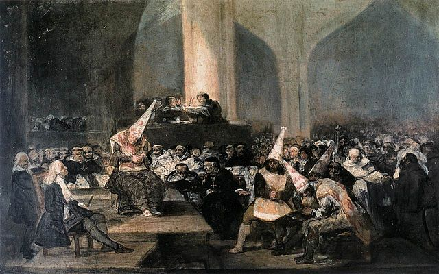 The Inquisition Tribunal by Francisco Goya