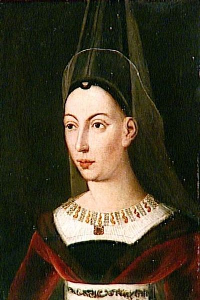 Isabella of Bourbon, Countess of Charolais Isabelledebourbon