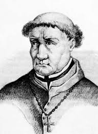 Drawing of Tomas de Torquemada