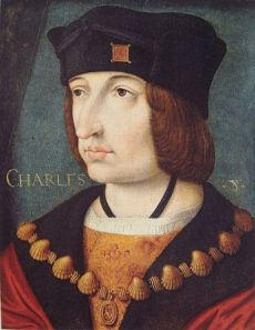 Margaret of Austria's first husband, King Charles VIII of France