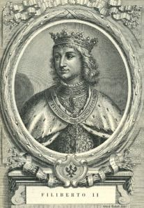 Margaret's third husband, Philibert II, Duke of Savoy