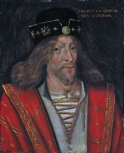 A sixteenth century portrait of King James I of Scotland by an unknown artist