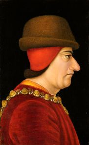 King Louis XI of France by an unknow artist