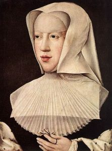 Margaret of Austria as a widow by Bernard van Orley