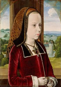Margaret of Austria by the Master of Moulins, aged 10
