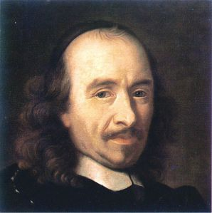Painting of Pierre Corneille by an unknown artist