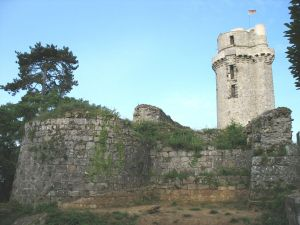 Montlhéry Castle  By CJ DUB (Own work) [Attribution], via Wikimedia Commons