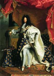Hyacinthe Rigaud's portrait of King Louis XIV in his coronation robes