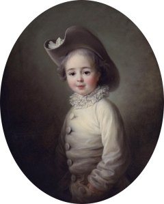 Marie-Jean Hérault de Séchelles as a child by François Hubert Drouais