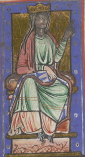 Ealhswith, Consort of the King of Wessex (Image in the public domain)