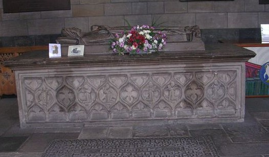 Tomb of Marjorie Bruce in Paisley Abbey Image in Public Domain