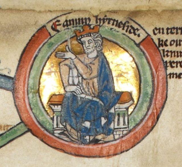"King Edmund II, ""Ironside"" (Image in the public domain)"