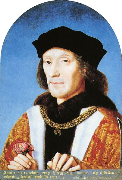 Margaret Beaufort's son, King Henry VII (Image in public domain)