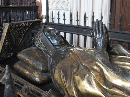 Tomb of Margaret Beaufort in Westminster Abbey (Image in public domain)