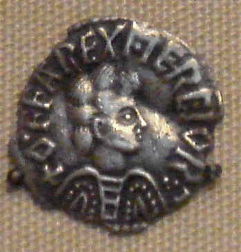 Coin depicting King Offa of Mercia