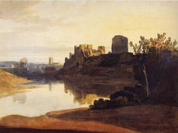 Pembroke Castles, Wales where Margaret's son was born (Image in the public domain)