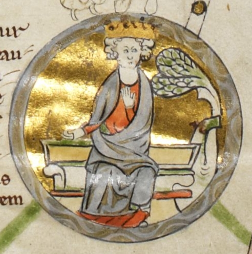 Eadgifu's son King Edmund I