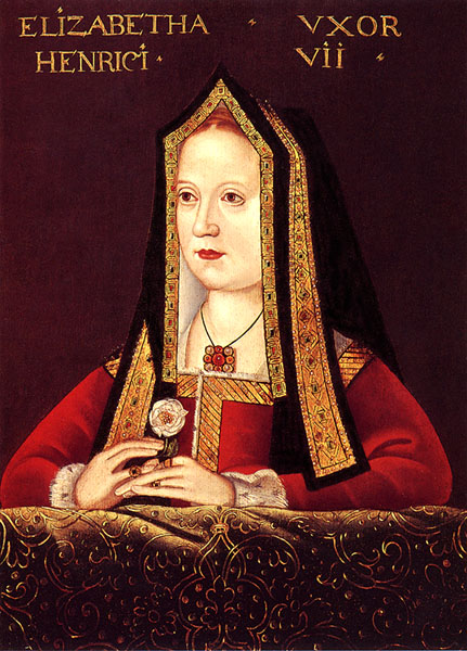 Portrait of Elizabeth of York, Queen of England
