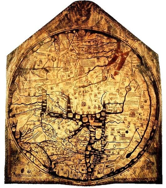 The Hereford Mappa Mundi