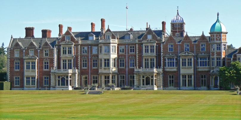 Sandringham House (Attribution:  http://www.tournorfolk.co.uk/sandringham.html)