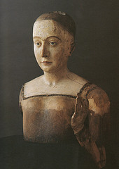 Effigy of Elizabeth of York used at her funeral (Author:  Lisby1)