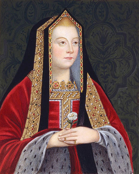 Eighteenth century depiction of Elizabeth of York