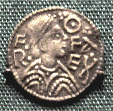 Offa, King of Mercia silver penny