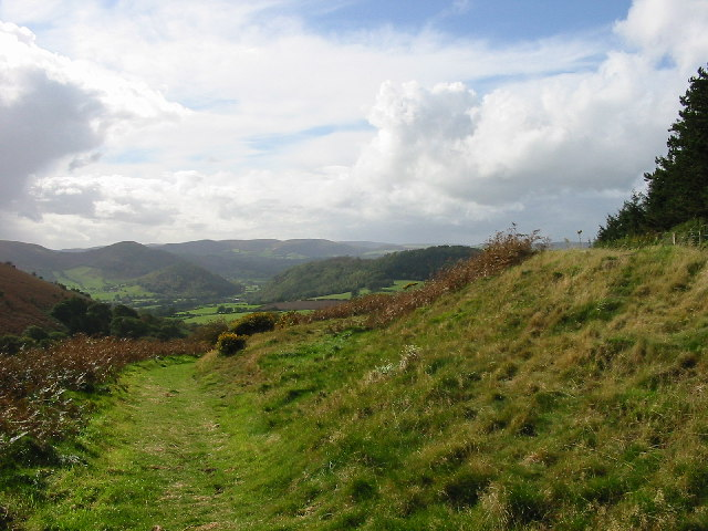 View of a section of Offa's Dyke  (Photo by Raymond Perry)