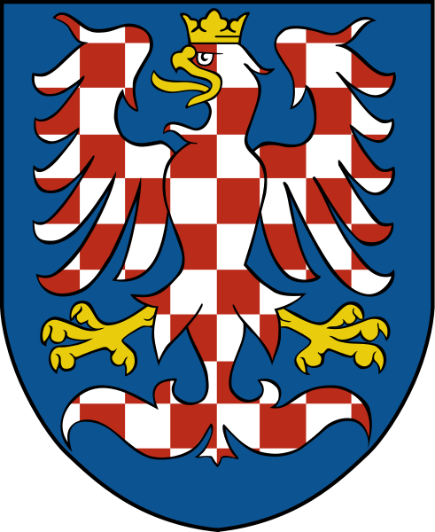Coat of arms for the modern region of Moravia, now in the Czech Republic
