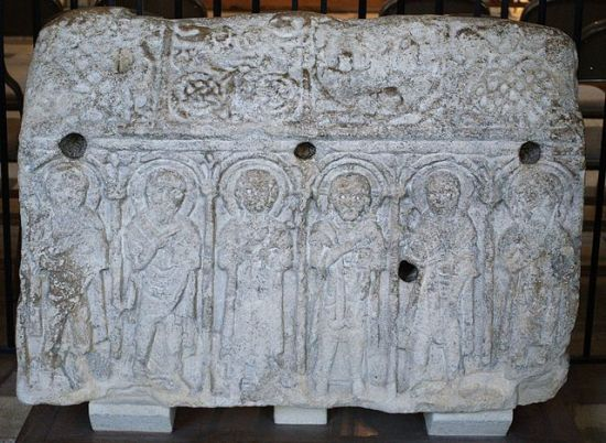 The Hedda Stone.  Image by NotFromUtrecht, Wikimedia Commons