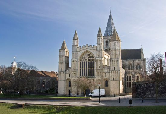 Rochester_Cathedral_from_west